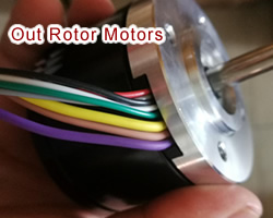 MotionKing Outer-rotor brushless motors
